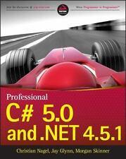 Professional C# 5.0 and .NET 4.5.1, Nagel, Christian, Glynn, Jay, Skinner, Morga