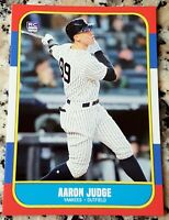 AARON JUDGE Rookie Card RC Logo 1986 Style New York Yankees 52 HRs ROY