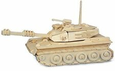 TANK Woodcraft Construction Kit -3D Wooden Army Vehicle Model Puzzle KIDS/ADULTS