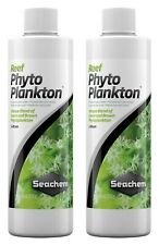 2x Seachem Reef Phytoplankton 250mL Liquid Coral Food (Exp: 01/2023)