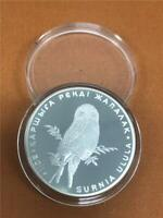 2011 Kazakhstan 'Hawk on Branch' 500 Tenge .925 Proof