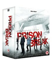 PRISON BREAK COMPLETE SERIES SEASONS 1,2,3,4 & 5 BLU RAY BOXSET 1-5