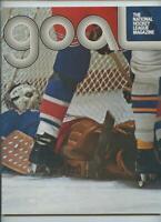 1973 Vintage NHL Hockey Program Philadelphia Flyers New York Rangers GOAL
