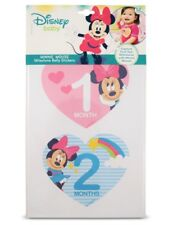 Disney Baby Girl Minnie Mouse Monthly Milestone Photo Prop Belly Stickers 12pcs