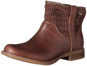 Timberland Damen Boots A14SC Women's Savin Hill Open-Weave Ankle Boots Gr. 37