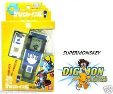 BANDAI DIGIMON SAVERS DIGIVICE juego IC enlace de datos 10X (102 Azul)