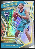 2019-20 Panini Revolution PJ Washington Jr. Silver Prizm Rookie RC Hornets 🔥📈