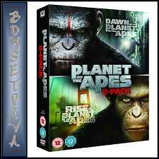 DAWN OF THE PLANET OF THE APES & RISE OF THE PLANET OF THE APES **BRAND NEW DVD