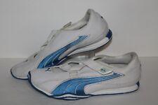 Puma Z strap Casual Trainers, #181685-10, White/Blue, Women's US Size 9.5