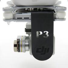 SCHWARZ/BLACK DJI Phantom 3 Lens Cover & Gimbal Lock Linsenschutz ADV&PRO