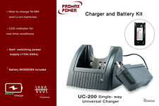 Universal  Charger & Battery kit for Kenwood Two-Way Radio TK-2207