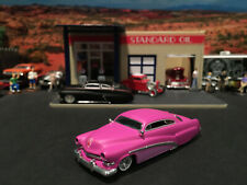1:64 Hot Wheels Limited Ed 1951 51 Merc Mercury Satin Pink Lead Sled Legends