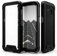 Samsung Galaxy S8 Plus Case Zizo with Screen Protector Military Grade Black