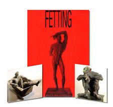 RAINER FETTING : Sculptor - Painter 1991 Exhibition Catalogue, Art Book V. RARE