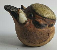 Vintage Tremar UK Miniature Pottery Bird