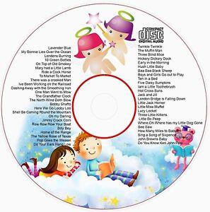 Nursery Rhymes Songs  50 Children's favourite CD