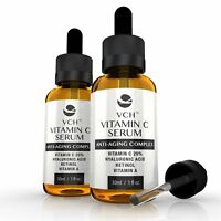VCH 20% Vitamin C Serum Anti-Aging Hyaluronic Acid & Retinol, Vitamin A 60ml