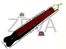 ZEVA Professional New Leather Strop Strap Belt Barber Straight Razor Sharpener