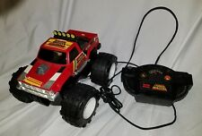 VINTAGE 1990 Radio Shack THUNDER WAGON Remote Control Monster Truck 4x4