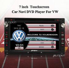 "2 Din 7"" Car DVD Player Autoradio Touchscreen GPS Navi RDS iPod DVBT Dual Zone"