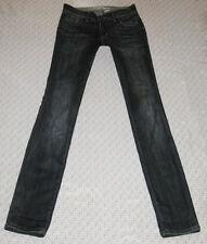 Parasuco Denim Legend Skinny Jeans Size 28x34 4/5 Long Tall Dark Wash