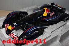 1/18 2010 RED BULL RACING X2010 S VETTEL MARK WEBBER F1 AUTOART GRAN TURISMO 5