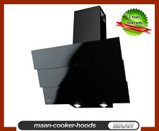 MAAN Cooker Hood Bravo Black 6S 60cm! Glass! THIS WEEK Special! 12 hoods Only