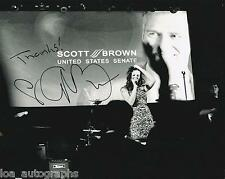 """Ayla Brown REAL hand SIGNED 8 x 10"""" Promo Photo #1 Country Singer Scott"""