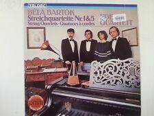 LP BELA BARTOK Streichquartette 1+5 Eder Quartett
