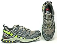 Salomon Mens Trail Running Shoes size 9 Green/Black FW472 LCRA