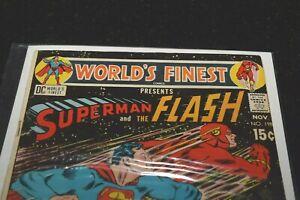 DC Comics World's Finest Presents Superman & Flash 1971 #198 - VF