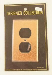 Designer Collection Edmar Series American Tack & Hardware Bronze Electric Plate