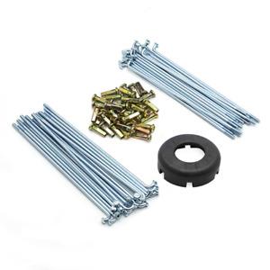 For Honda CT90 CL70 C70 C100 C50 Spokes Nipples Wrench Kit 36pcs Spoke 1.40.17
