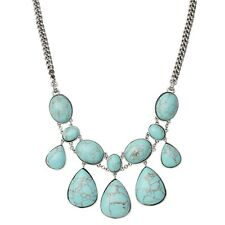 JA5254797 NEW Fossil Ladies Wild Orchid Semi Precious Turqouise Necklace £89
