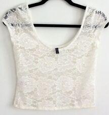 Forever New Short Sleeve Nylon Tops & Blouses for Women