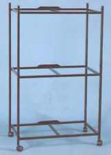 """3 Tiers Stand For 30'x18'x18"""" ;H Aviary Bird Flight Breeding Cages Bk"""