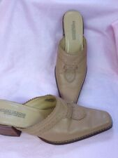 Studio Designs By Jonathan Martin Slip On Heel Pump Tan Point Toe 7 1/2 M 7.5