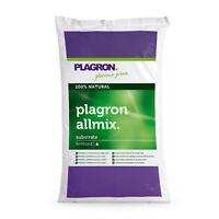 Plagron All Mix 50 Liter Erde Dünger Nährstoff Humus  Grow Pflanzen