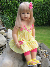 Masterpiece ~ Julia ~ Blonde 32 Inch All Vinyl Doll by Monika Peter-Leicht