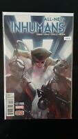 All-New Inhumans 3 Second Printing Variant Marvel High Grade Comic Book RM8-67