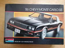 '86 Chevrolet Monte Carlo SS - Monogram - 1:24