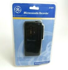 New Factory Sealed GE 3-5371 Microcassette Recorder Vintage 1996 Never Opened