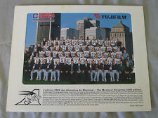 Original CFL Montreal Alouettes 2000 Official Team Photo