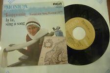 "MONICA ASPELUND""LAPPONIA-disco 45 giri RCA It 1977"" EUROVISION 1977"
