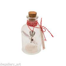 Piccola BOTTIGLIA & scorrere all' interno di un messaggio in una bottle-for quello che si ama.