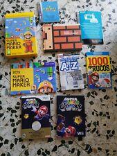 Lote Mario Bros Y Wii U coin NINTENDO colección moneda galaxy
