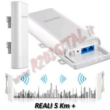 RANGE EXTENTER ANTENNE RELAIS RIDEAU O3 WIFI N INTERNET LONGUE DISTANCE 5KM