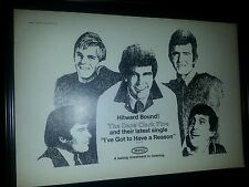 Dave Clark Five I've Got To Have A Reason Rare Promo Poster Ad Framed!