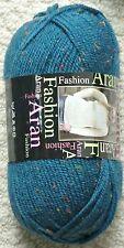 Clearance 10 X 100g King Cole Fashion Aran - Shade Lewis - 30 Wool