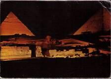 (wy7) Giza Egypt: The Nocturnal Magic Near The Pyramids